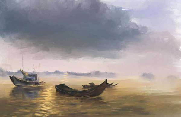 evening_boats_by_loo1cool_d75fwvn-fullview